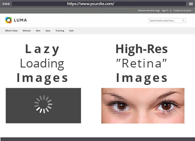 The All-In-One Image Optimization Extension For Magento 2: AVIF, WebP, Lazy Loading + High Resolution (Retina) Images
