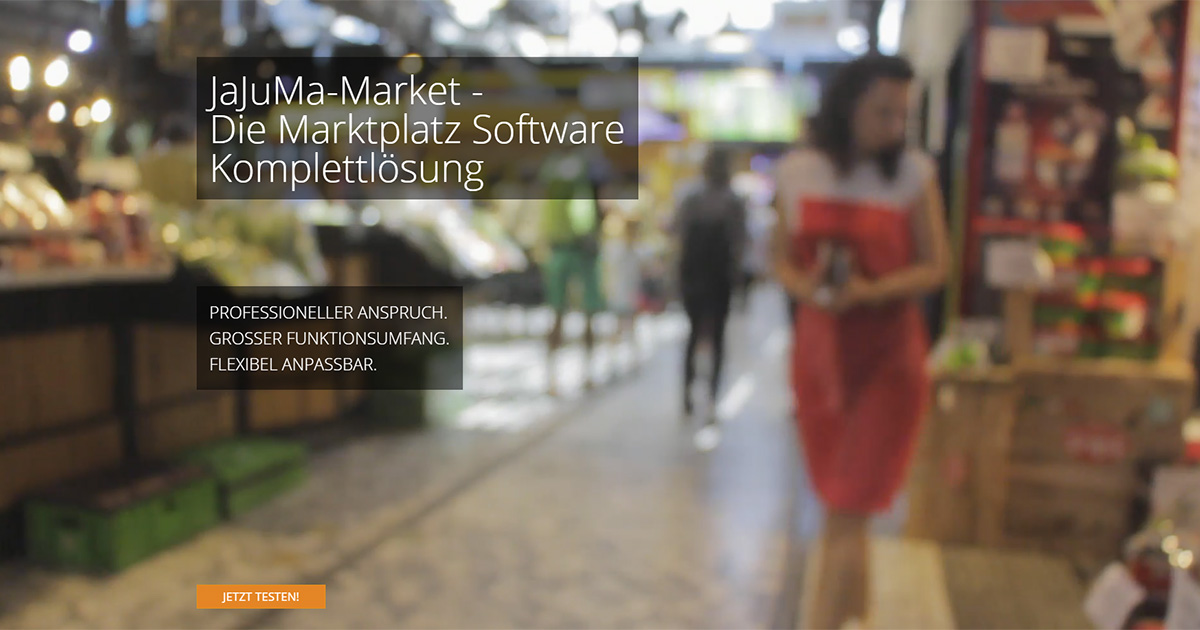 Online Markplatz Software - cover